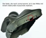 Schaltsack VW Golf 4 ECHT LEDER (passt nur für Fahrzeuge MIT Chromrahmen) N263