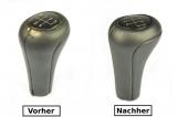 BMW E36 E34 E32 E28 E39 E38 E46 Abdeckung Lederbezug Leder für Schaltknauf N371